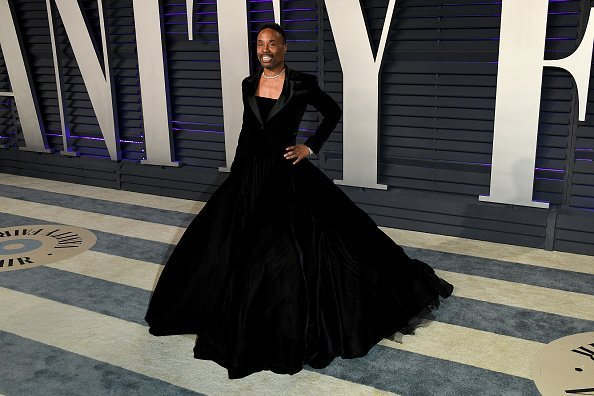 Billy Porter at the 2019 Vanity Fair Oscar Party in Beverly Hills, California | Photo: Getty Images
