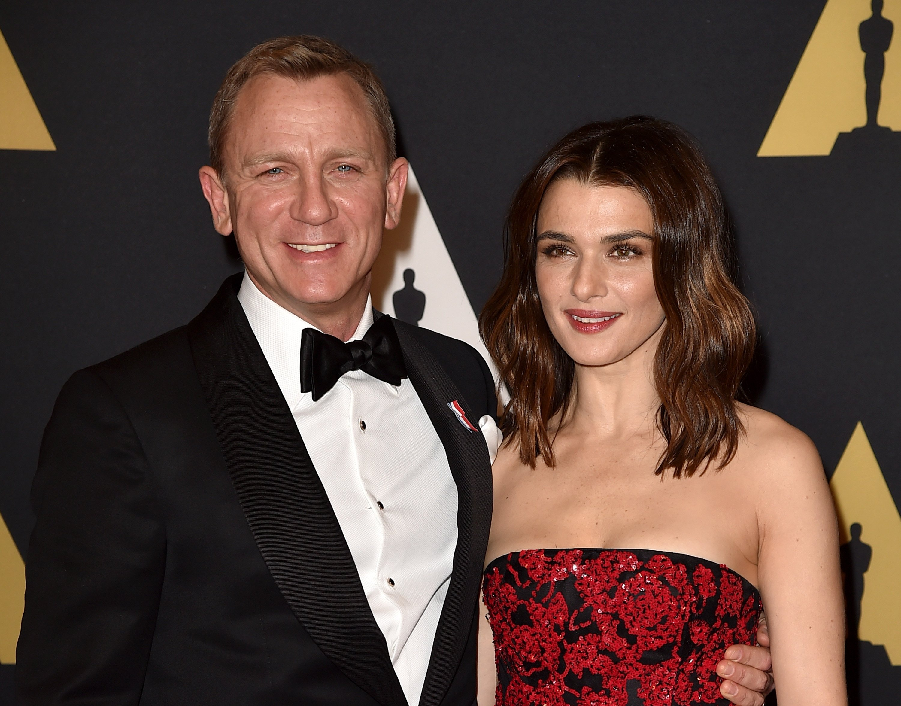 Actors Daniel Craig (L) and Rachel Weisz attend the Academy of Motion Picture Arts and Sciences' 7th annual Governors Awards at The Ray Dolby Ballroom at Hollywood & Highland Center on November 14, 2015 in Hollywood, California.| Source: Getty Images
