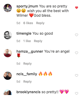 Fans Comment on Amanda Pacheco's post on Instagram | Source: Instagram/seaweanie