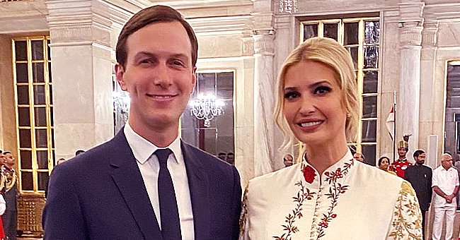 Ivanka Trump Dons Ivory Anarkali Suit with Flower Print for Banquet in India and Fans Think She's Stunning