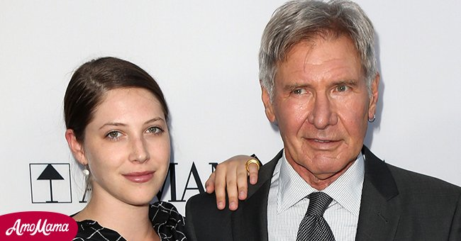 Movie icon, Harrison Ford and his daughter Georgia at an event   Photo: Getty Images