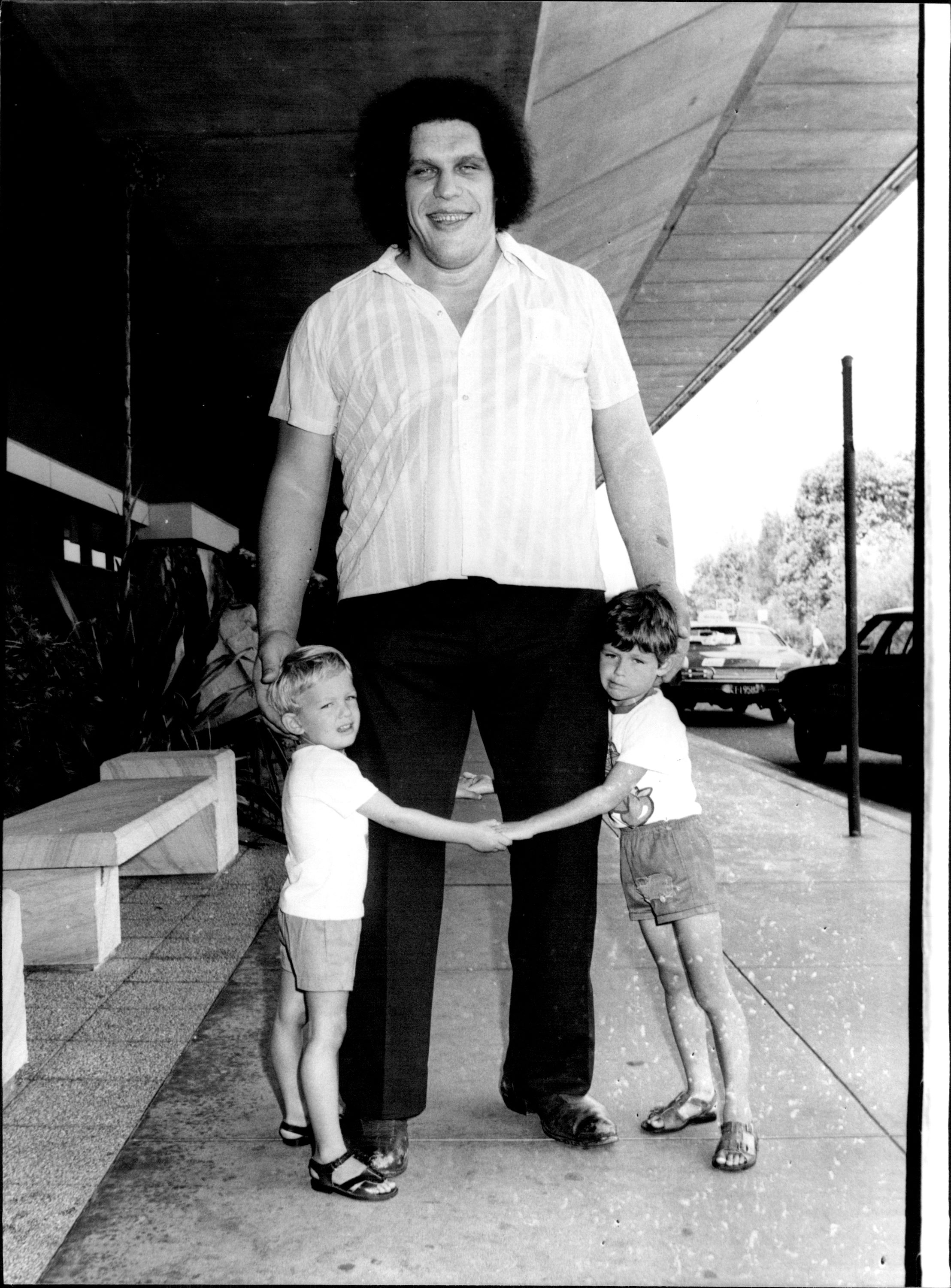 Andre the Giant. I Image: Getty Images.