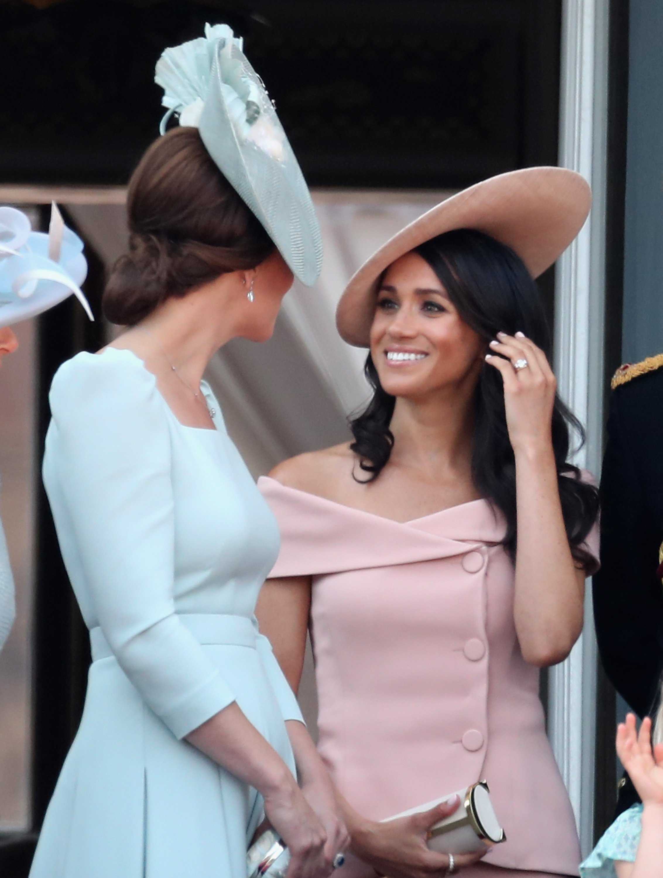 Kate Middleton and Meghan Markle. I Image: Getty Images.