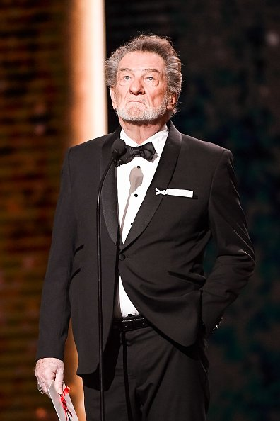 Eddy Mitchell lors de la cérémonie des César 2018. | Photo : Getty Images
