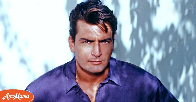 Actor Charlie Sheen poses in Los Angeles, California Circa 1987 | Source: Getty Images