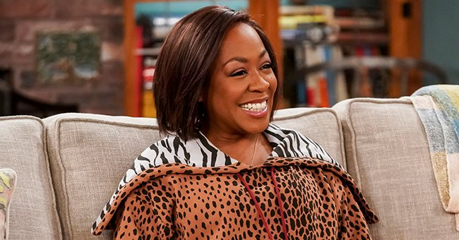 See How Mesmerizing Tichina Arnold Is as She Looks Back & Flaunts Her Figure in a Red Dress