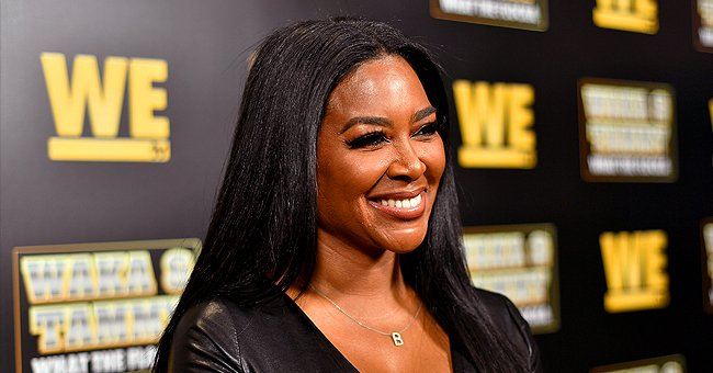 Kenya Moore from RHOA Flaunts Curves in Black Leather Minidress at 'Waka & Tammy: What the Flocka' Premiere
