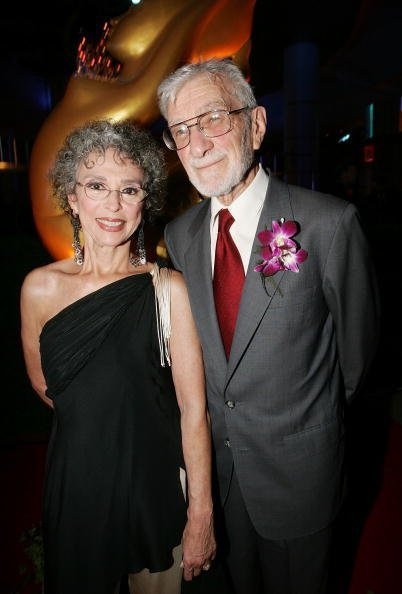 Rita Moreno and her husband Lenny Gordon attend the opening night of the Bangkok International Film Festival at Siam Paragon Festival Venue on February 17, 2006, in Bangkok. | Source: Getty Images.
