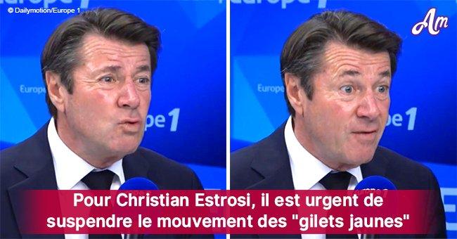 La tragédie à Strasbourg: Christian Estrosi appelle les 'gilets jaunes' à arrêter leurs actions