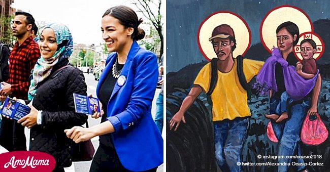 'Christ's family were refugees, too': Ocasio-Cortez's Christmas tweets spark debate