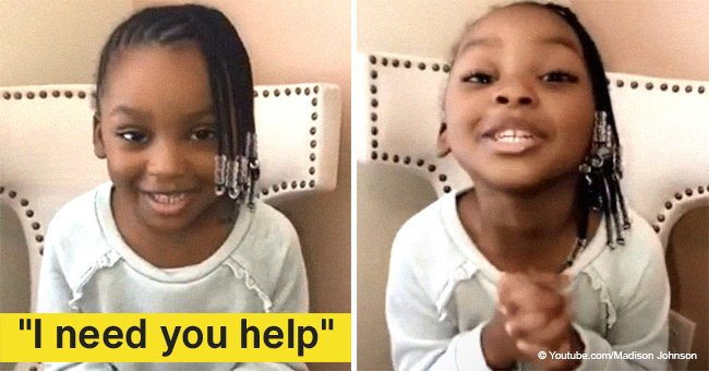 4-year-old girl's heartfelt public plea to get her dad a kidney transplant went viral