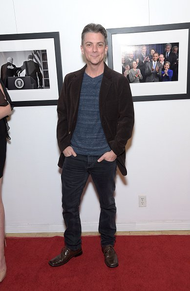 """Jeremy Miller attends the opening of photographer Anna Wilding's new exhibition """"Celebrate Hope: The Obama White House Collection"""" in honor of Black History Month at The Perfect Exposure Gallery   Photo: Getty Images"""