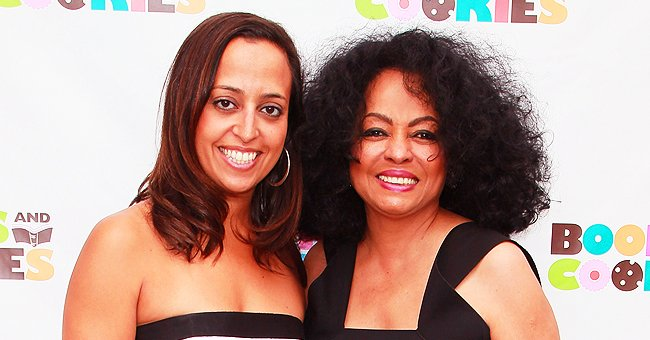 Diana Ross' Daughter Chudney Lovingly Hugs Both of Her Kids in Touching Family Photo
