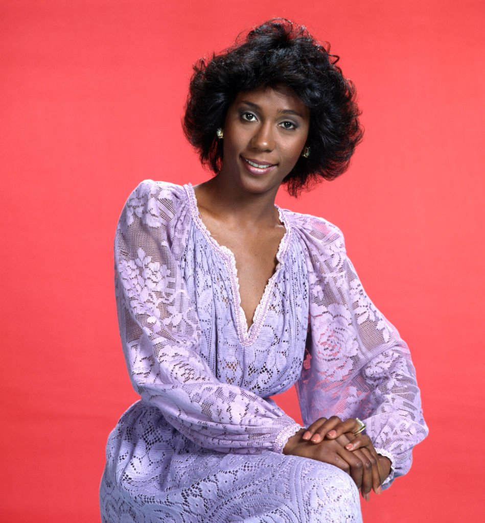 Berlinda Tolbert (as Jenny Willis Jefferson) in the CBS television situation comedy, THE JEFFERSONS. Premier episode aired January 18, 1975.   Photo: Getty Images