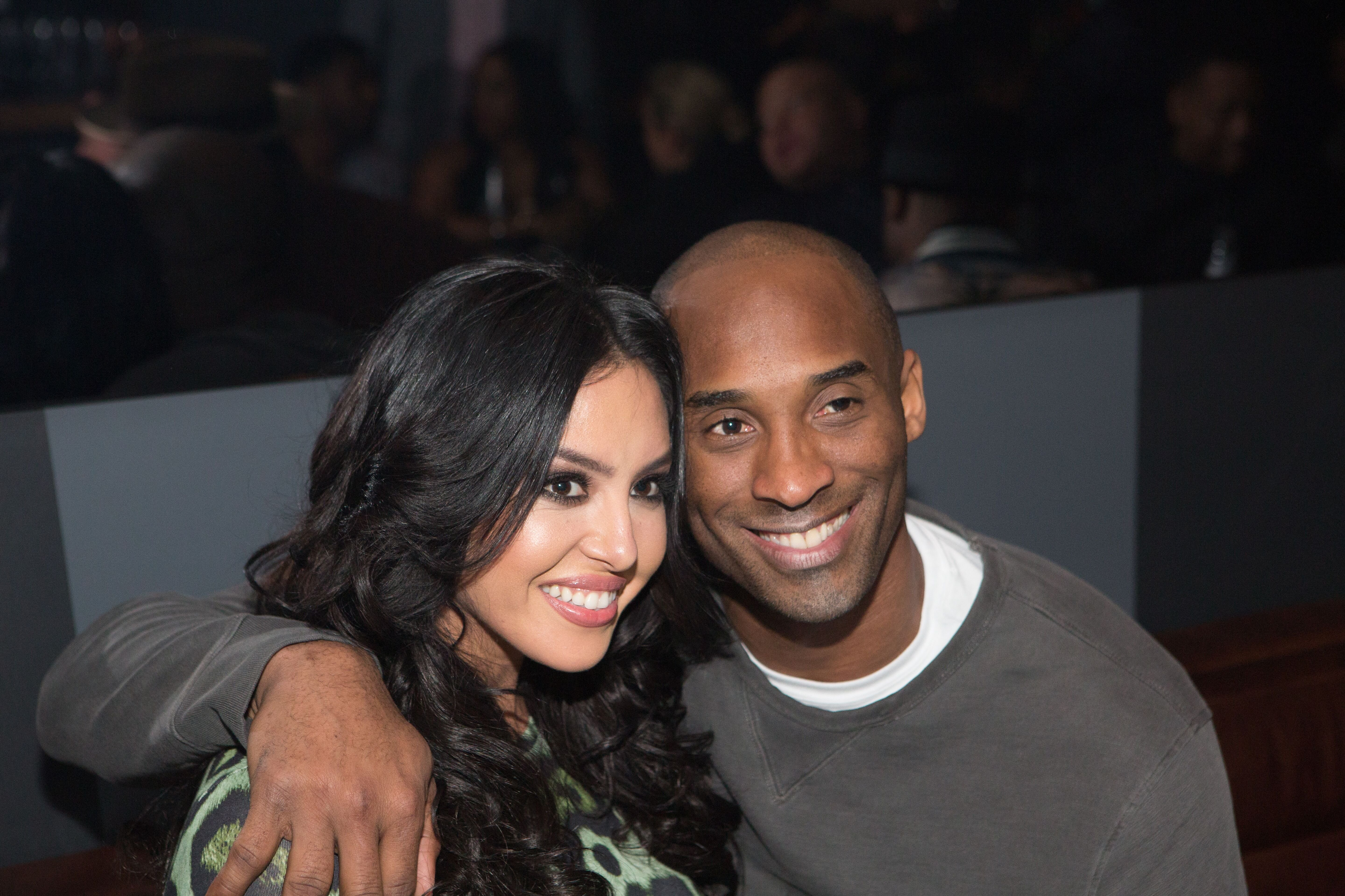 Vanessa Bryant and Kobe Bryant during The Gentleman's Supper Club. | Source: Getty Images