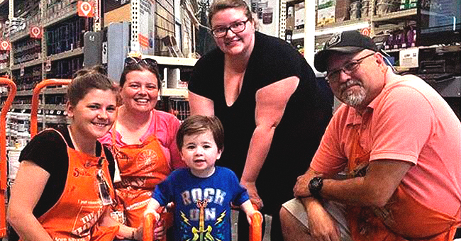 2-Year-Old Boy Gets a Walker from Home Depot Employees so He Could Get Around