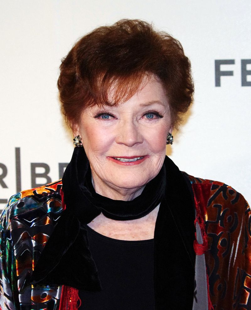 Polly Bergen at the 2012 Tribeca Film Festival premiere of Struck by Lightning. | Source: Wikimedia Commons