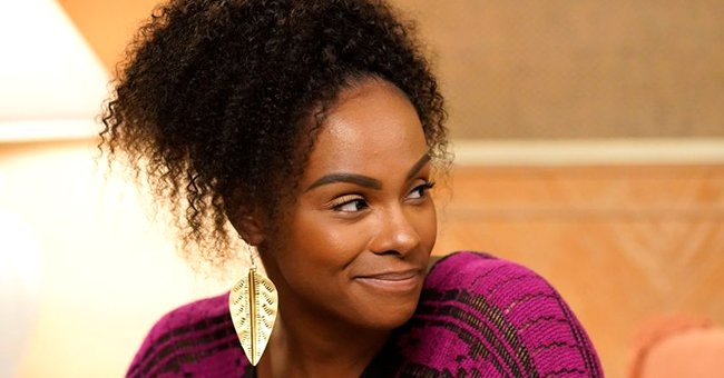 Tika Sumpter's White Fiancé Nicholas Gently Kisses Her as They Enjoy Romantic Date Outdoors