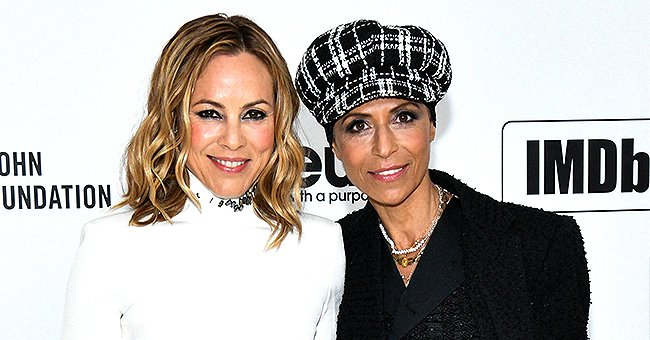 Maria Bello from NCIS Posts Photo with Future Wife Dominique Crenn after Announcing Their Engagement