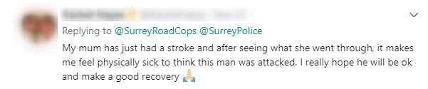 Source: Twitter/ SurreyRoadCops