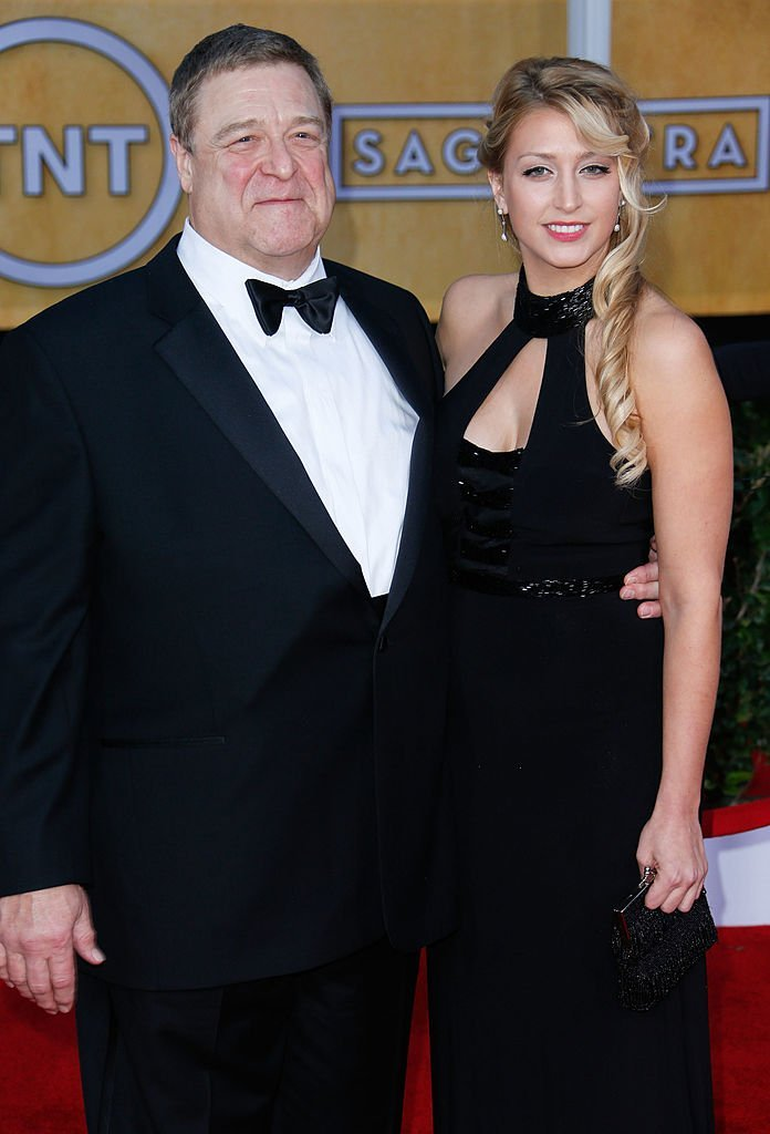 Actor John Goodman (L) and daughter Molly Evangeline Goodman attend the 19th Annual Screen Actors Guild Awards at The Shrine Auditorium. | Photo: Getty Images