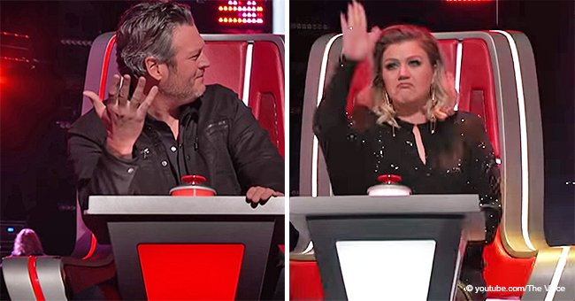 Kelly Clarkson Instantly Pushes the Button after 'The Voice' Contestant Barely Sings 3 Words