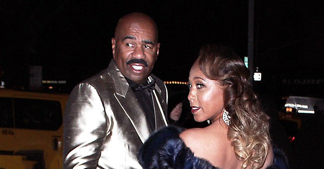 Check Out Steve Harvey's Wife Marjorie's Trendy Outfit as She Celebrates Daughter Lori's B-Day