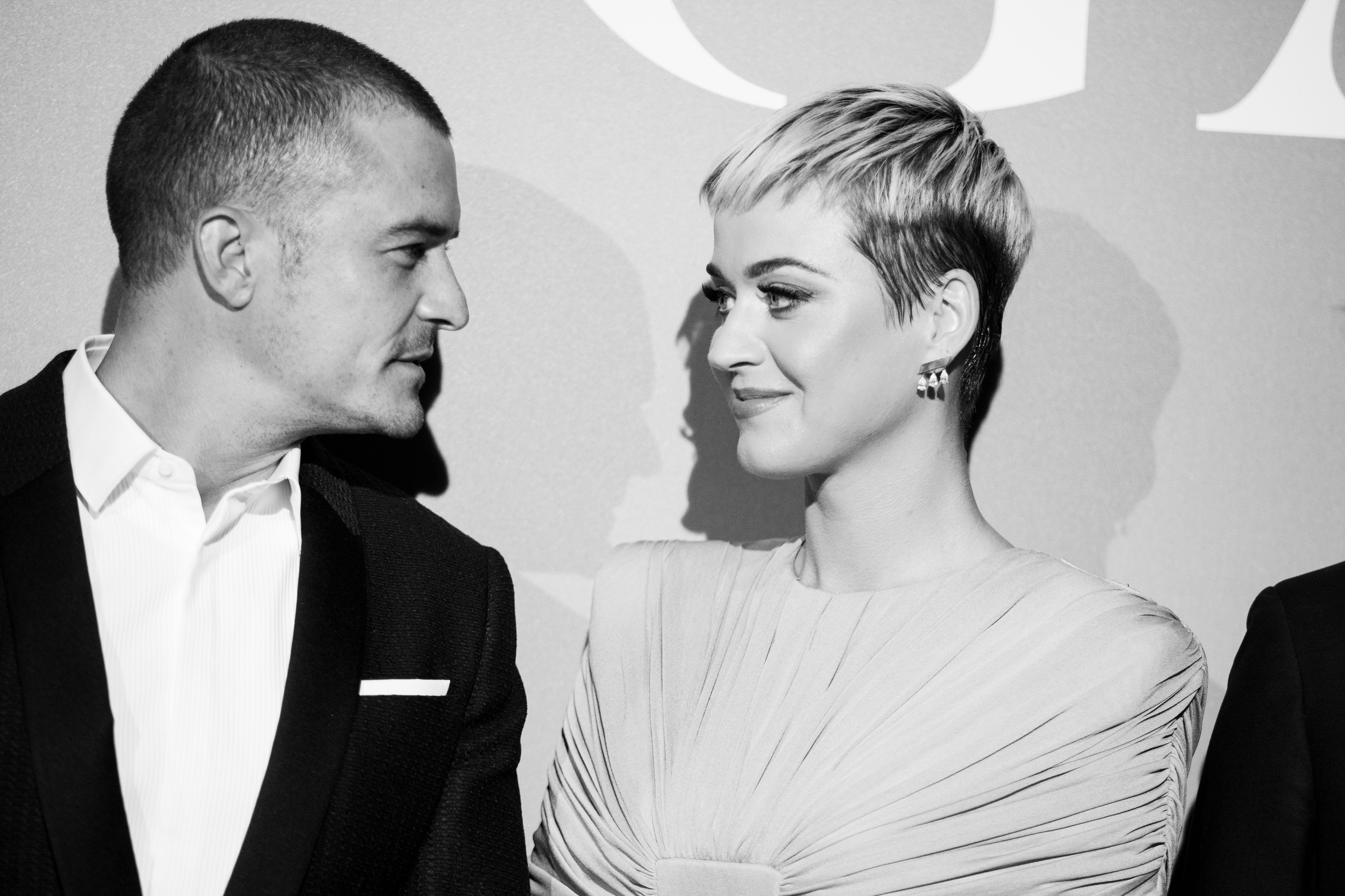 Katy Perry and Orlando Bloom attend the Gala for the Global Ocean in Monaco, 2018   Photo: Getty Images