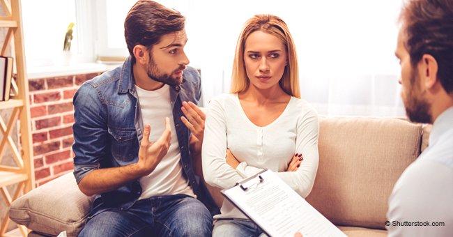Un couple marié décide de divorcer et choisit un moyen de partager leurs biens et leurs enfants