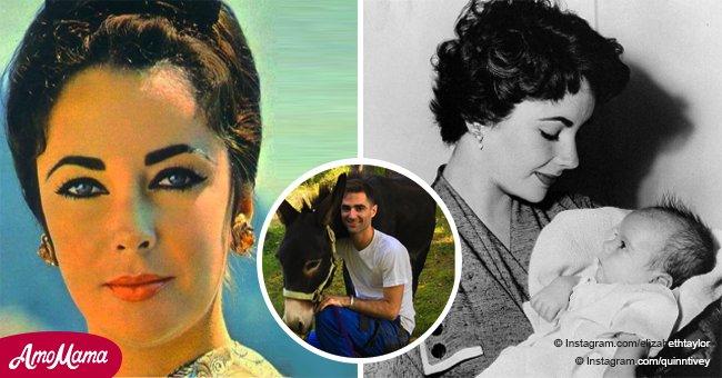 Der Enkel von Elizabeth Taylor ist schon erwachsen und erbte die unglaubliche Schönheit seiner Oma.