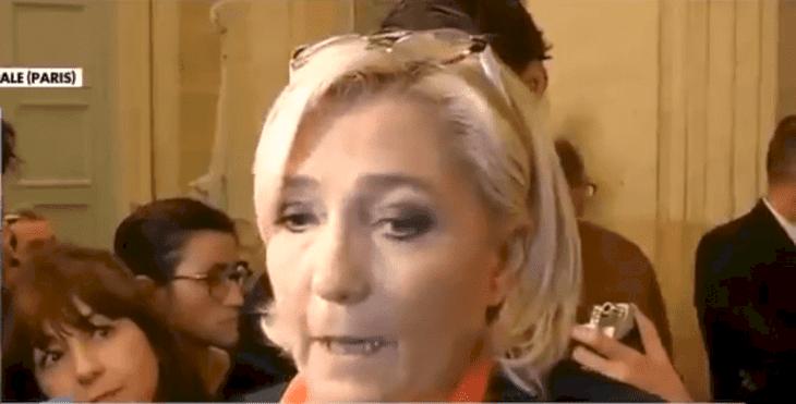 Marine Le Pen | Source : Twitter / avec_marine