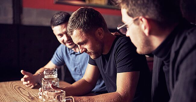 Daily Joke: Two Guys in a Bar Talk about the Amount of Control They Have over Their Wives