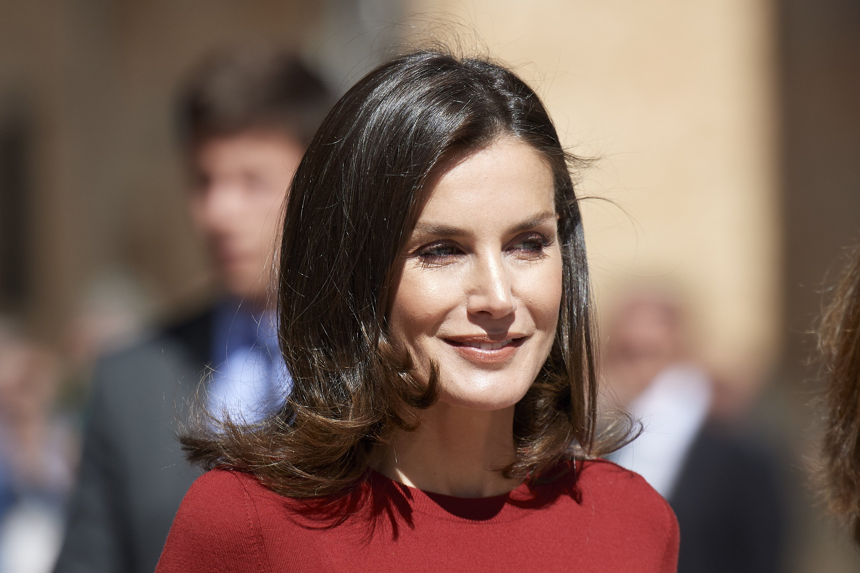 Queen Letizia Of Spain attends the closure Of Journalist's Seminar on June 12, 2019 | Photo: GettyImages