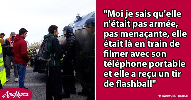 """""""Irrecevable"""": La police a gravement blessé le visage d'une écolière par un tir de flash-ball à Biarritz"""