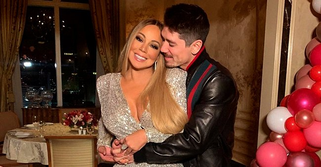 Mariah Carey Celebrated Valentine's Day with Her Twins Moroccan & Monroe & Boyfriend Bryan Tanaka in Sweet Photos