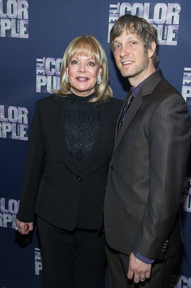 """Candy Spelling and Randy Spelling attend the """"The Color Purple"""" Broadway Opening Night After Party at Copacabana on December 10, 2015, in New York City. 