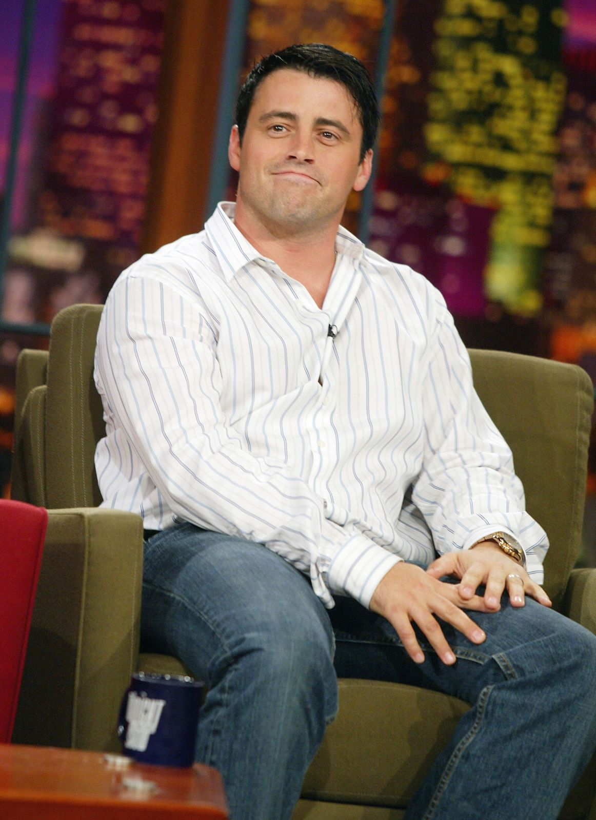 "L'acteur Matt Le Blanc qui incarne Joey dans ""Friends"" 