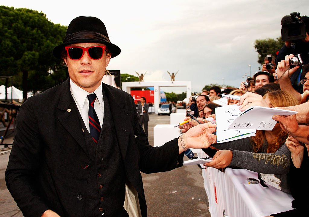Heath Ledger at the Venice Film Festival, September 2007 | Source: Getty Images