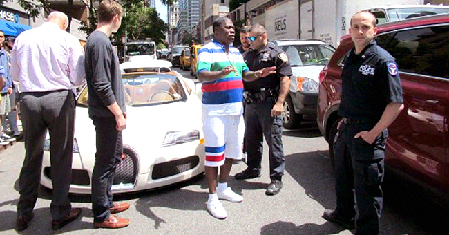 Watch Tracy Morgan Go off on Woman Who Allegedly Sideswiped His New $2M Bugatti