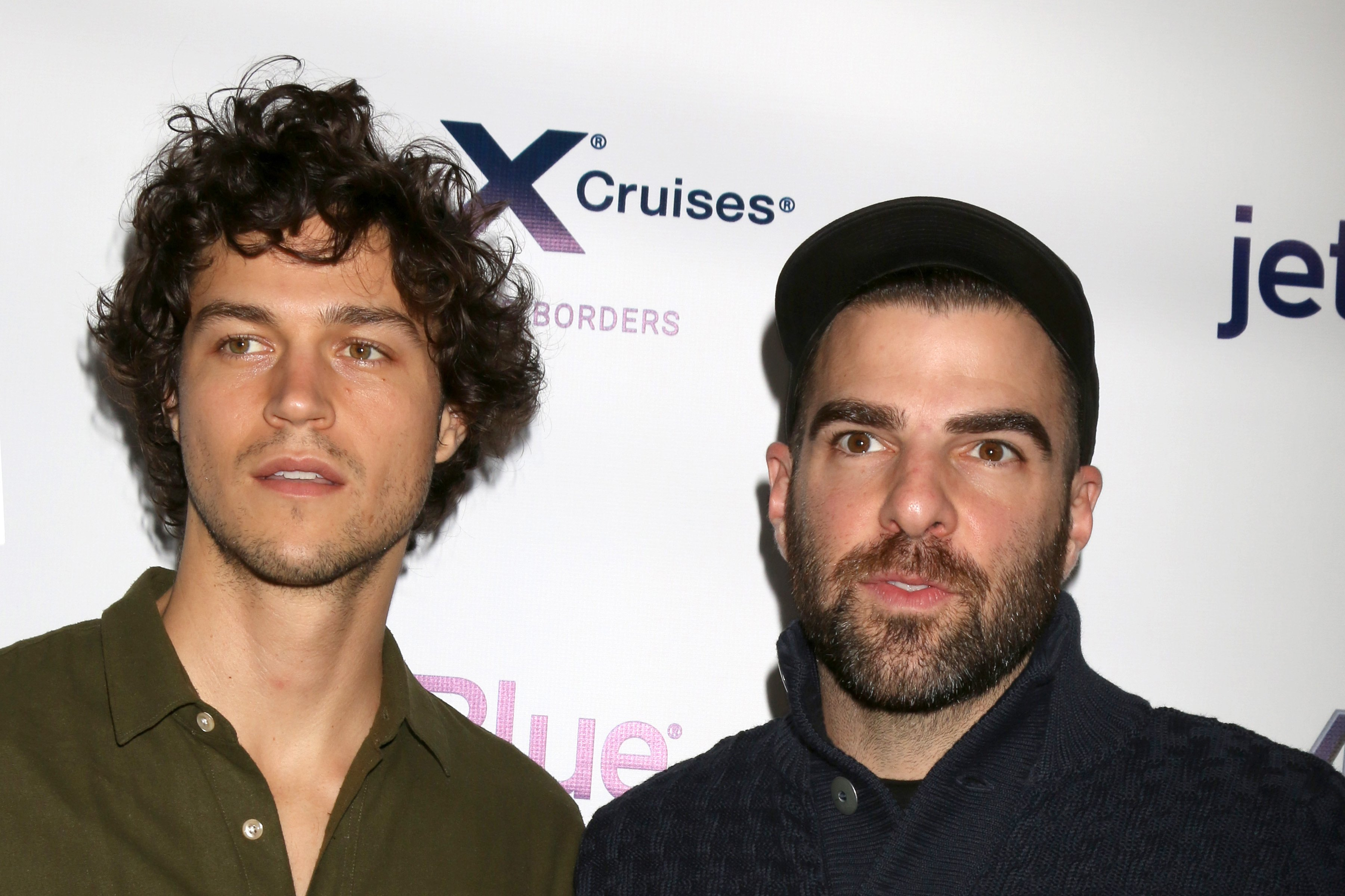 Miles McMillan, Zachary Quinto at the Tie The Knot Celebrates 5-Year Anniversary at the NeueHouse on October 12, 2017 in Los Angeles, California   Photo: Shutterstock