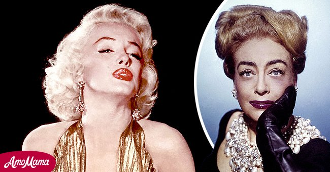 American actresses Marilyn Monroe and Joan Crawford | Source: Getty Images