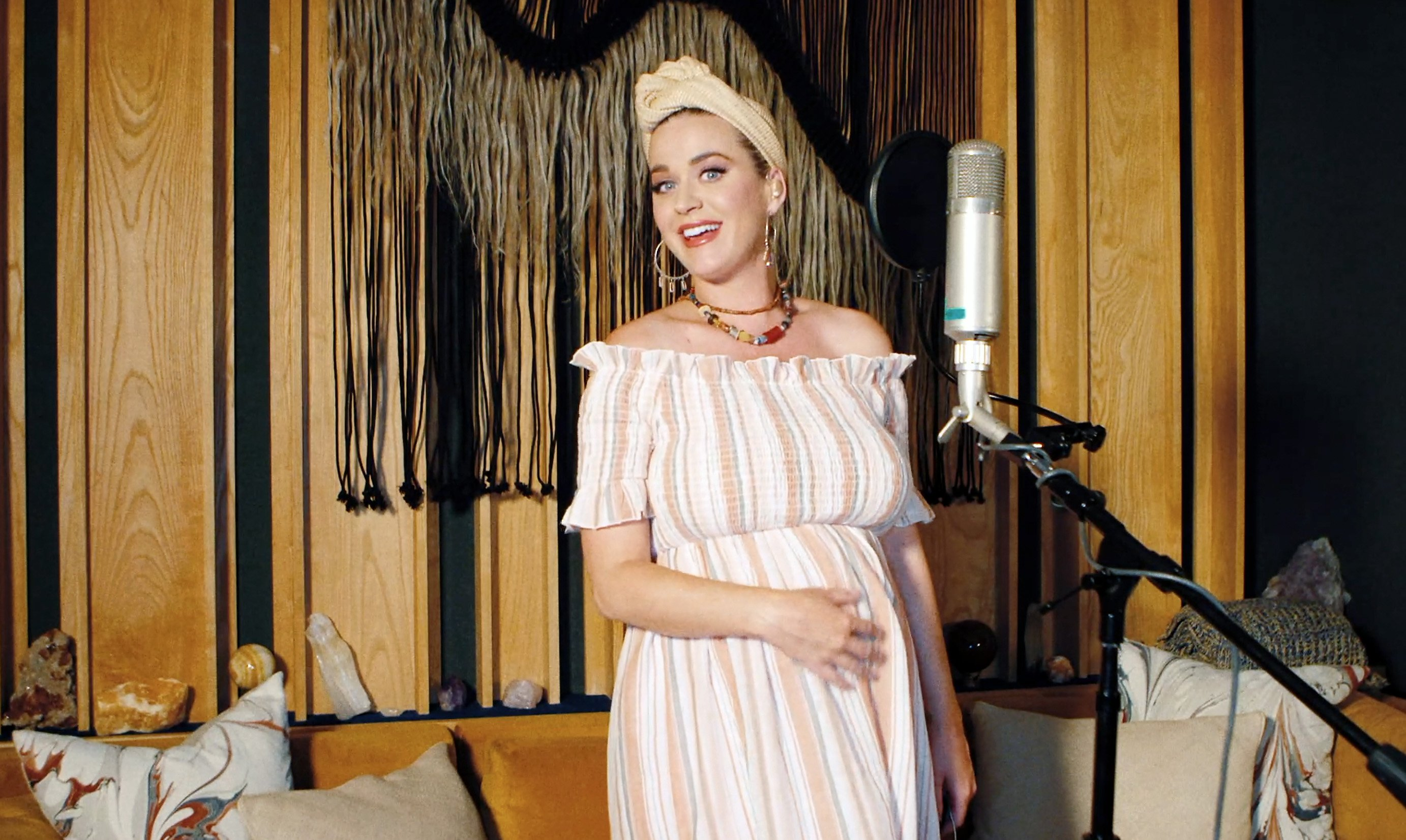 Katy Perry performs during SHEIN Together Virtual Festival on May 09, 2020. | Source: Getty Images.