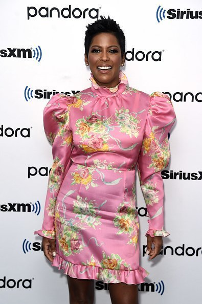 Tamron Hall visits SiriusXM Studios in New York City   Photo: Getty Images