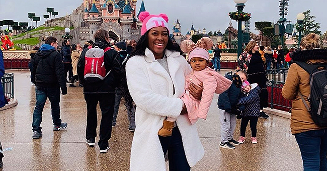 Kenya Moore of RHOA Continues to Celebrate Daughter Brooklyn's First Birthday with Trip to Disneyland Paris