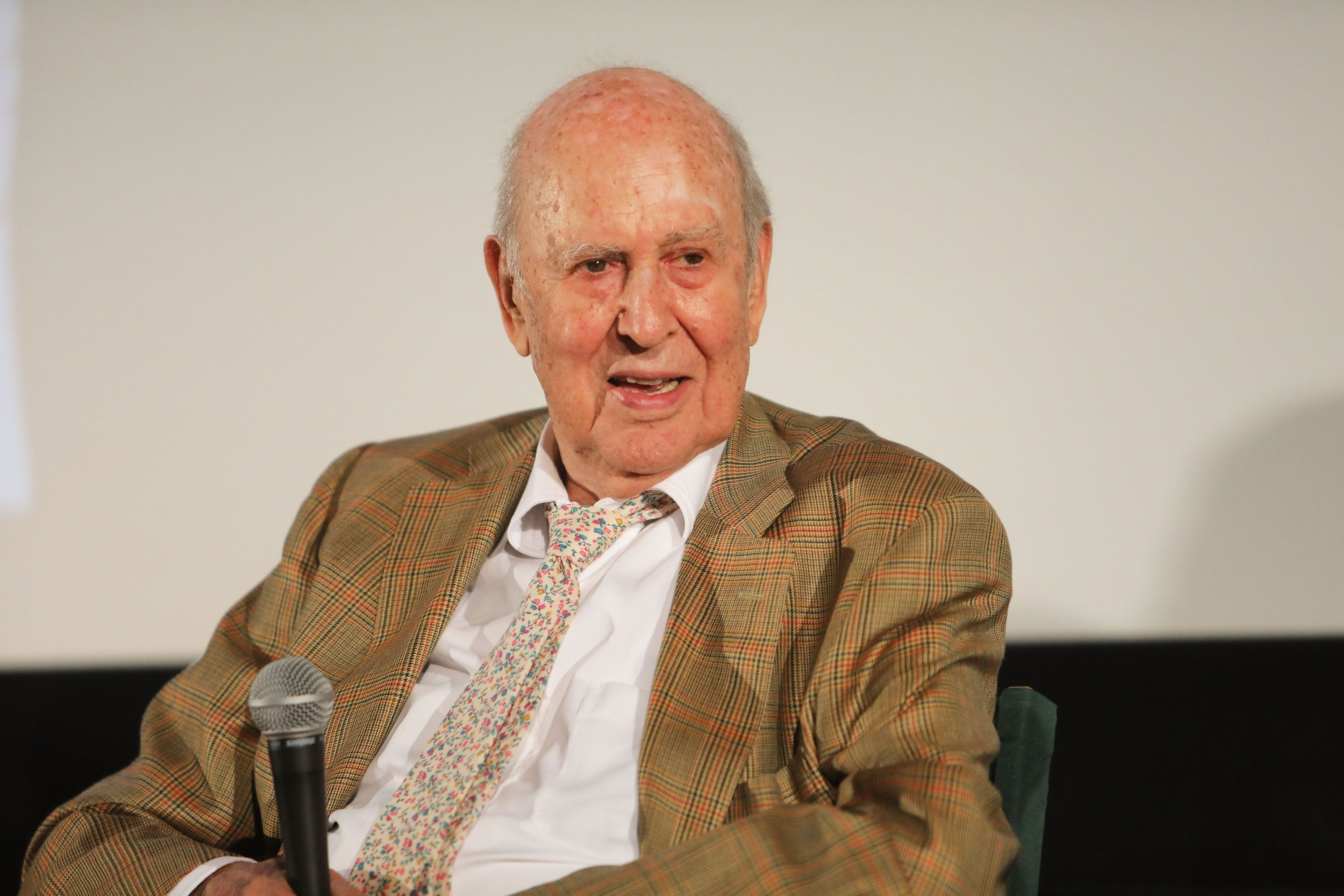 Carl Reiner au Théâtre Aero le 3 août 2017 à Santa Monica, Californie. | Photo : Getty Images
