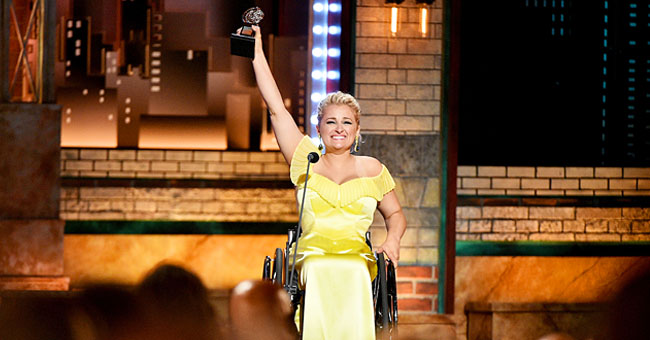 Ali Stroker Makes History as the First Tony Award Recipient Who Is in a Wheelchair