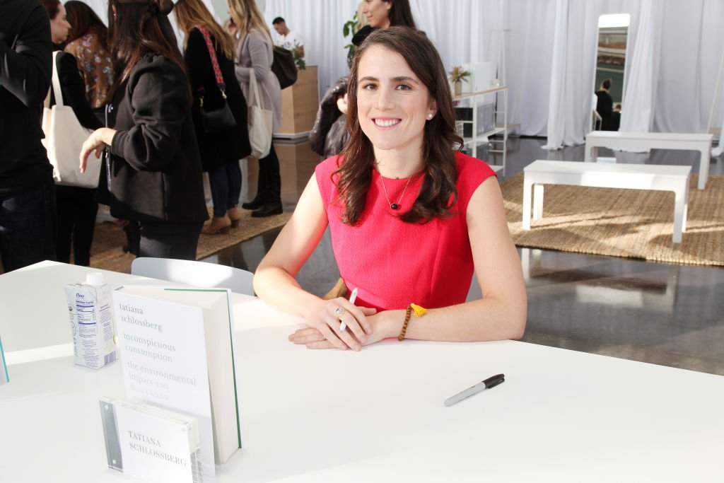 Tatiana Schlossberg attends her book signing in San Francisco on November 16, 2019   Source: Getty Images