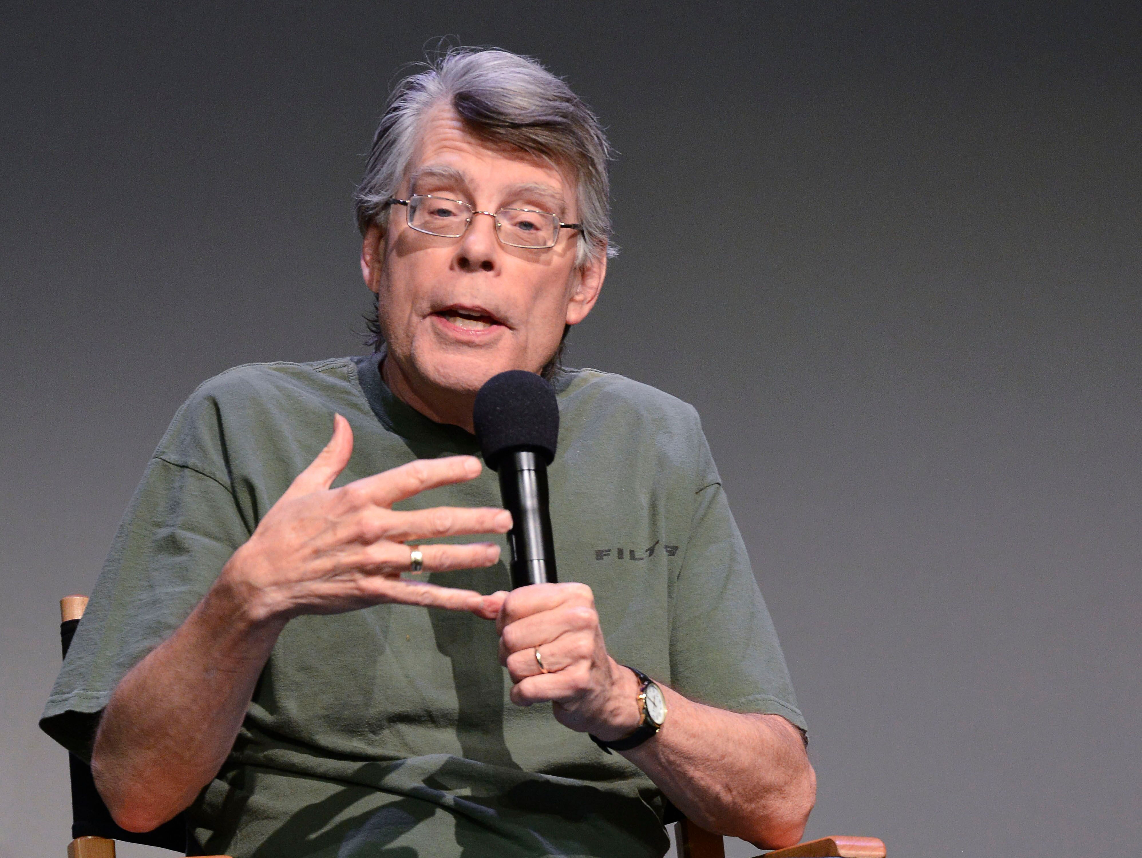 L'incontournable Stephen King. l Source : Getty Images