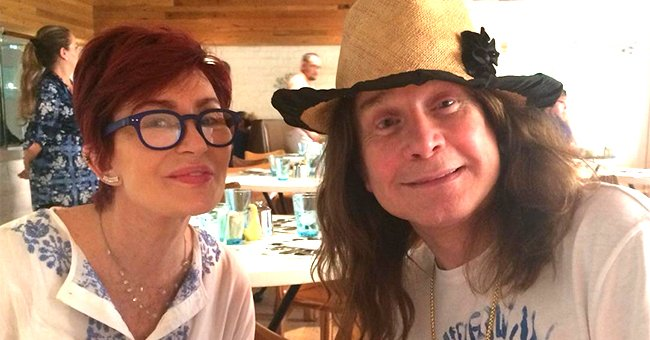 Sharon Osbourne Is All Smiles in Rare TBT Photo from 'Cute' Getaway with Husband Ozzy Osbourne
