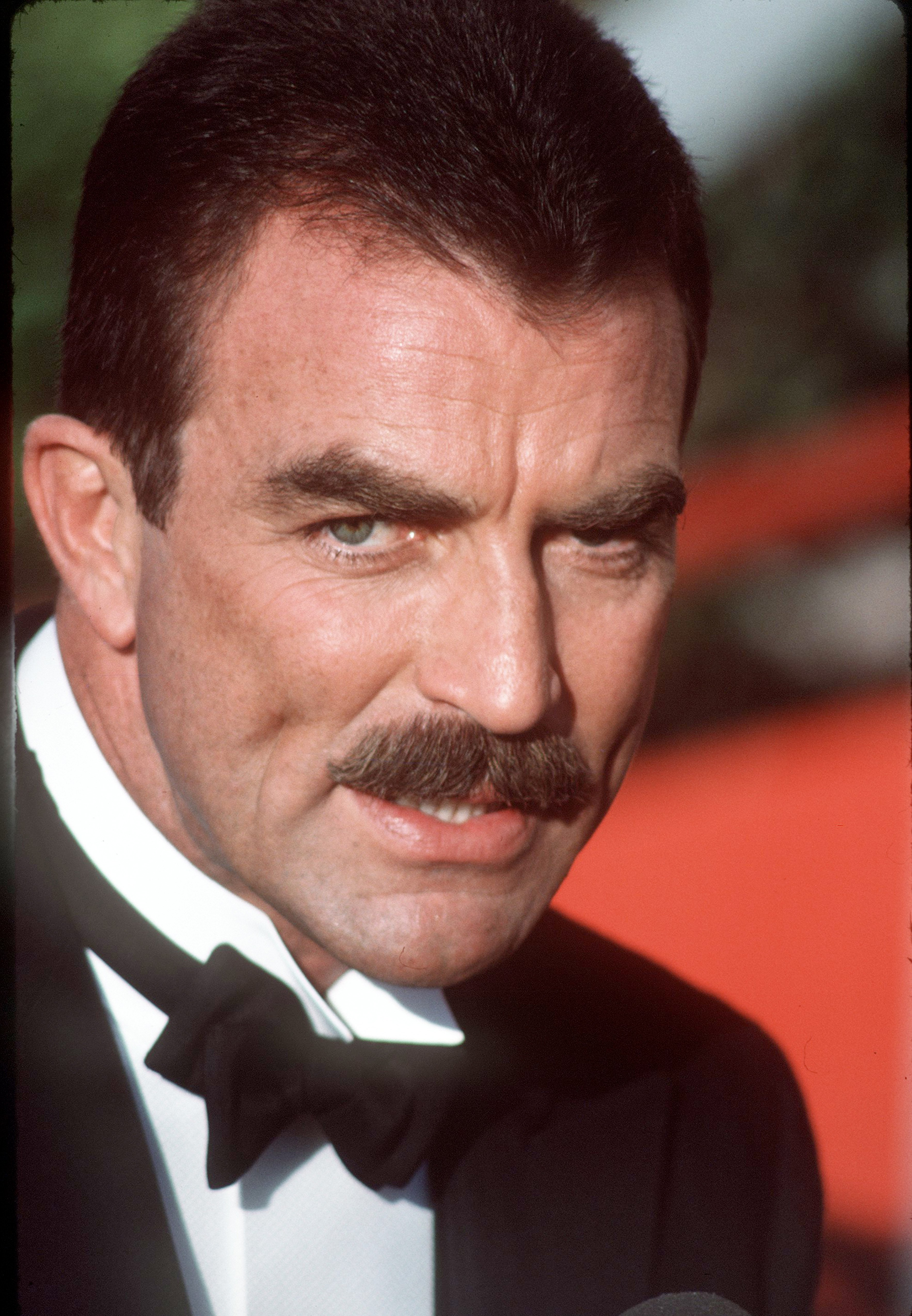 Actor Tom Selleck, circa 1990. | Photo: GettyImages